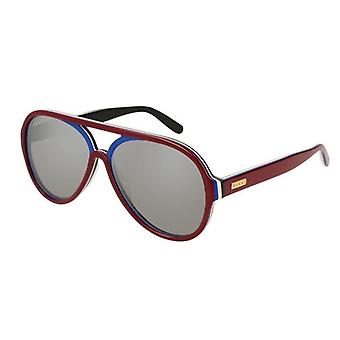 Gucci Pilot Burgundy Ladies Sunglasses - GG0270S-004