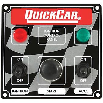 QuickCar Racing Products 50-022 4-3/8 High Ignition Switch with 2 Indicator Lights