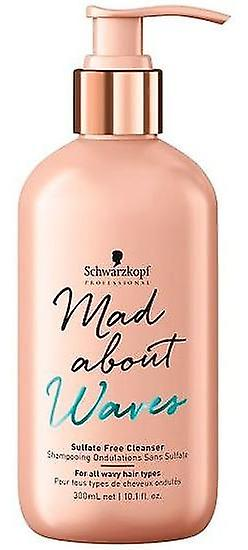 Schwarzkopf Professional Mad Waves Champu Sin Sulfatos 300 ml (Hair care , Shampoos)