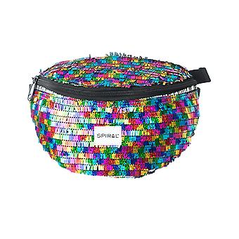 Spiral Ritz Rainbow Bum Bag