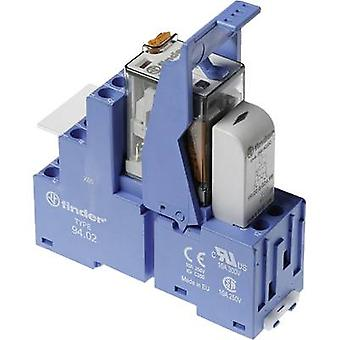 Finder 58.32.8.230.0060 Relay component 1 pc(s) Nominal voltage: 230 V AC Switching current (max.): 10 A 2 change-overs