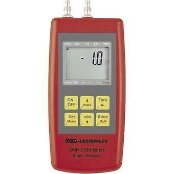 002 GREISINGER GMH3181 manómetro presión de aire, gases no corrosivos, gases corrosivos-0.005 - +0.005 bar