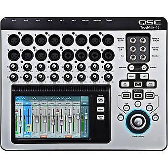 Digitalmischpult QSC TOUCHMIX 16 Nr. Kanäle: 20 USB-Anschluss