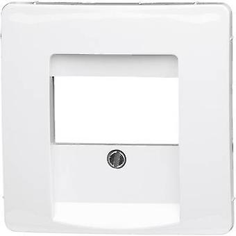 Kopp Cover TAE socket Paris White 3
