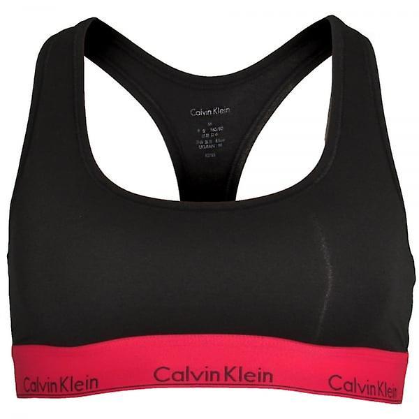 Calvin Klein Women Calvin Klein Women Modern Cotton Bralette, Black With Empower, Medium