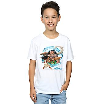 Disney Boys Moana And Maui Wave T-Shirt