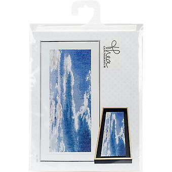Sky Study V On Aida Counted Cross Stitch Kit-5.75
