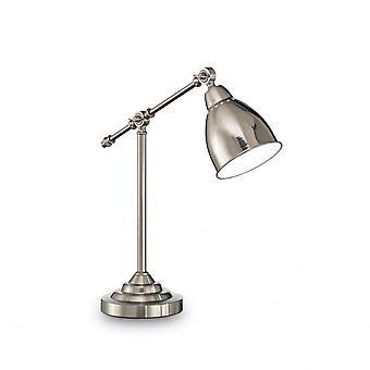 Ideel Lux Newton bord lampe nikkel