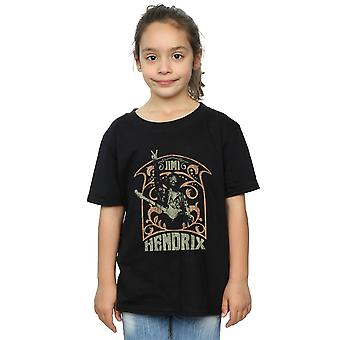 Jimi Hendrix Girls Art Nouveau T-Shirt