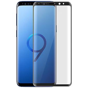 5D Full Cover screen protector with black edges for Galaxy S9 - 9H hardness