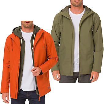 Top Coat kurtka z kapturem deszcz wodoodporna długi rękaw zwierząt Byro męskie