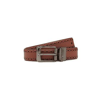 Ted Baker Men's Bush Tan Reversible Belt