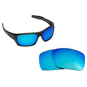 Best SEEK Polarized Replacement Lenses for Oakley TURBINE Blue Mirror