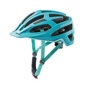 CRATONI C-Flash Fahrradhelm // türkis/blau matt