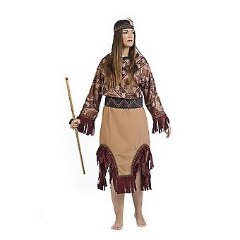 Indian lady costume Squaw ladies Indian dress costume Apachin