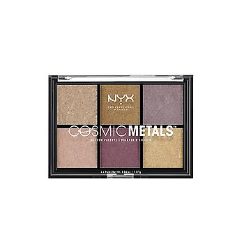 NYX Prof. Make-up kosmischen Metalle Schattenpalette