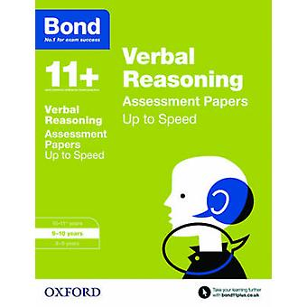 Bond 11+ - Verbal Reasoning - Up to Speed Papers - 9-10 Years by Frances