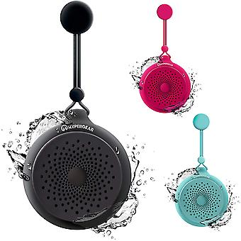 HyperGear Splash Water Resistant Wireless Bluetooth Speaker with Microphone