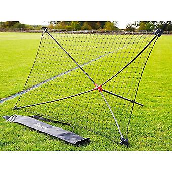 Precision Football Soccer Quick Setup Portable Training Goal Shot Rebounder