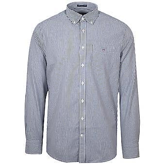 Gant GANT Persian Blue Stripe Regular Fit Broadcloth Banker Shirt