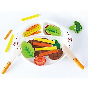 Jeu d'imitation enfant jeux jouets Jouets de cuisne Hearty Home-Cooked Meal 0102098