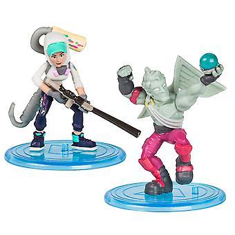 Fortnite 63532 Duo Pack-Assortment TEKNIQUE & Love Ranger,