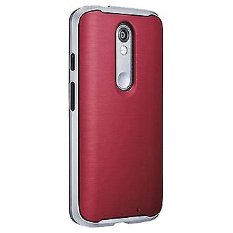 Verizon Soft Bumper Case for Motorola Droid Turbo 2 - Marsala Red