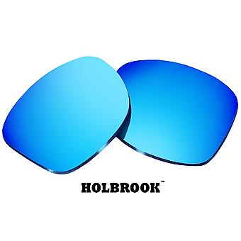 HOLBROOK Replacement Lenses Blue Mirror by SEEK fits OAKLEY Sunglasses