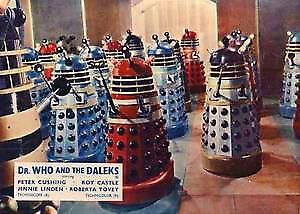 Dr. Who Dalek Invasion fridge magnet   (sd)