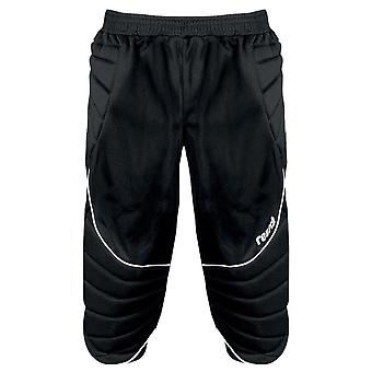 Reusch 360 Protec 3/4 Padded Kids Goalkeeper Goalie Pant Black