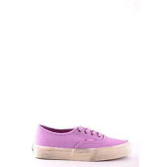 Vans Fuchsia Fabric Sneakers