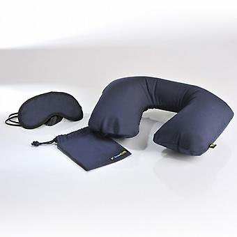 Set of pillow, mask and cover. (Sleep set)