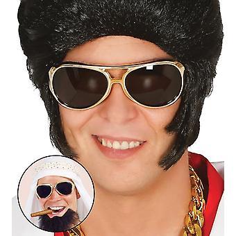 Accessoires de déguisements adultes Elvis lunettes