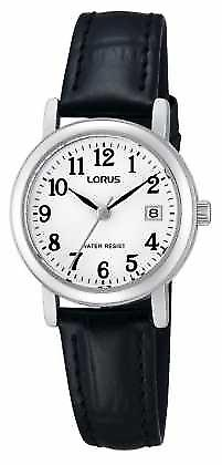 Lorus Ladies Leather Strap RH765AX9 Watch