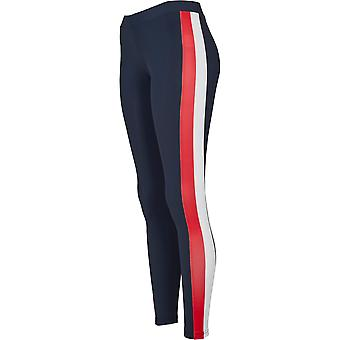 Urban Classics Damen Leggings Side Stripe