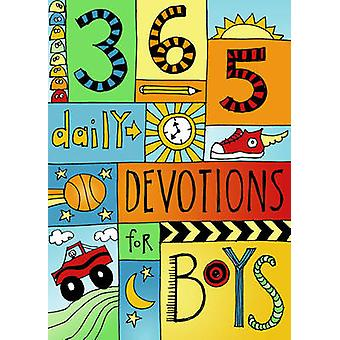 365 Devotions for Boys by B&H Kids Editorial - 9781433688225 Book