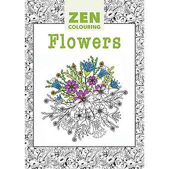 Zen Colouring - Flowers - 9781784940966 Book