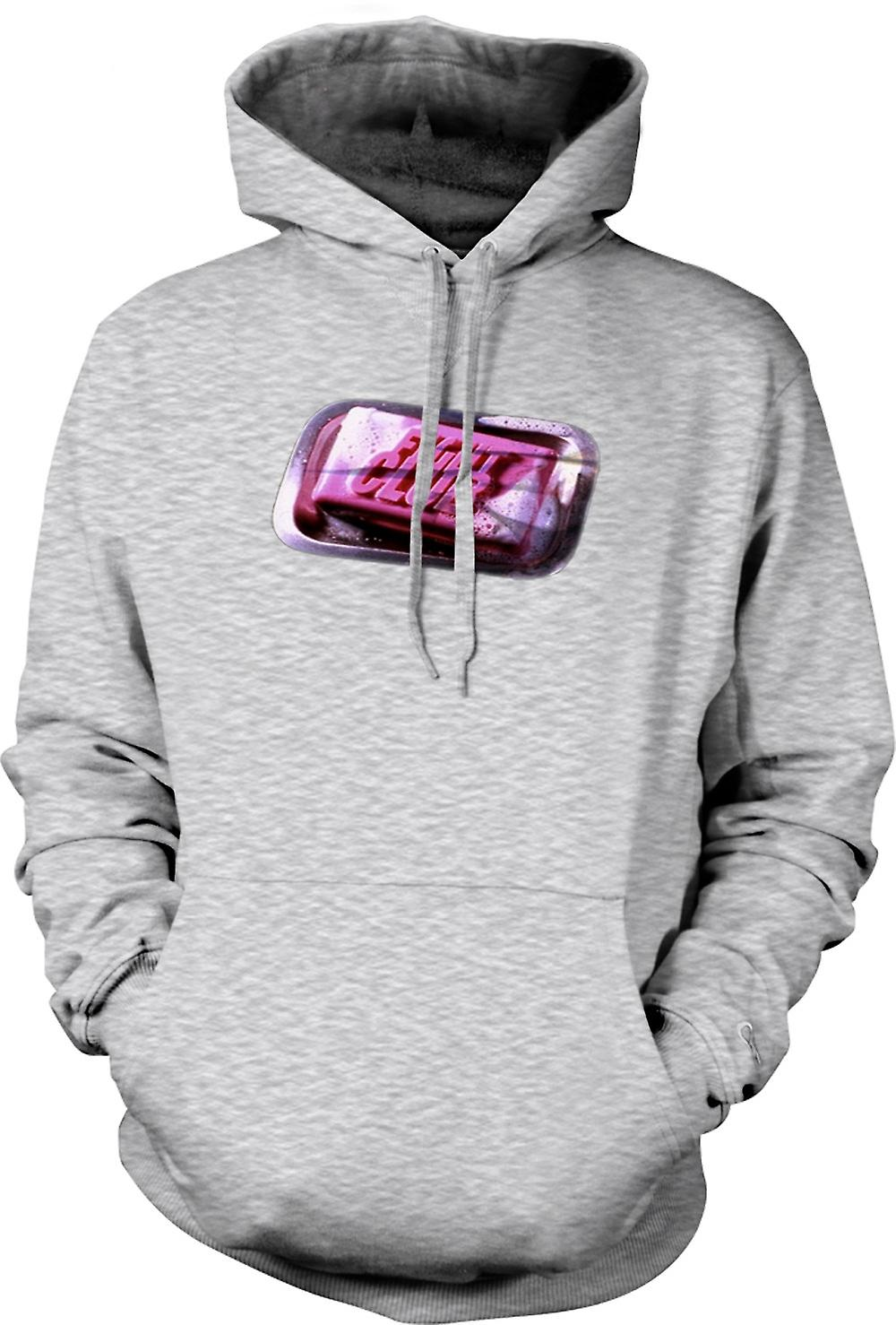 Mens Hoodie - Fight Club - Soap - Movie