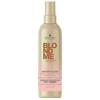 Schwarzkopf Professional BlondMe Instant Blush Temporary Hair Colour - Strawberry