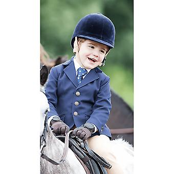 Shires Aston Childrens Show Jacket - Navy Blue