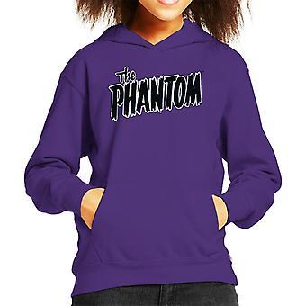 The Phantom Text Logo Kid's Hooded Sweatshirt