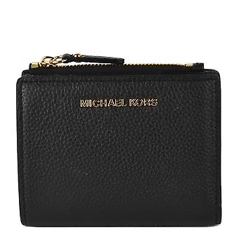 MICHAEL by Michael Kors Jet Set Black Snap Billfold Wallet