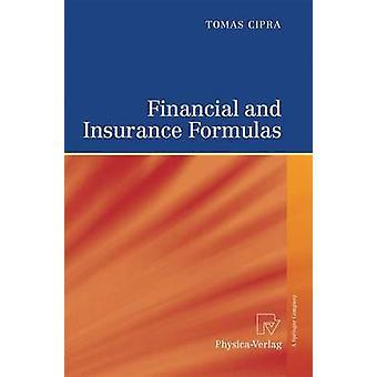Financial and Insurance Formulas by Cipra & Tomas