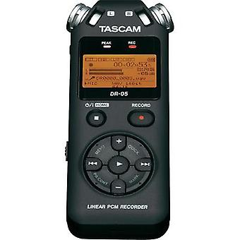 Portable audio recorder Tascam DR 05 Black