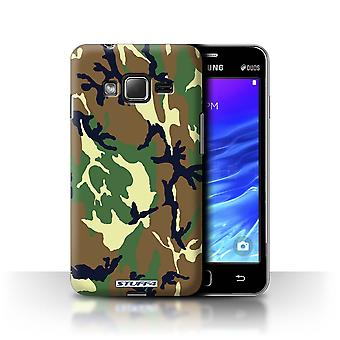 STUFF4 Case/Cover for Samsung Z1/Z130/Green 4/Camouflage Army Navy