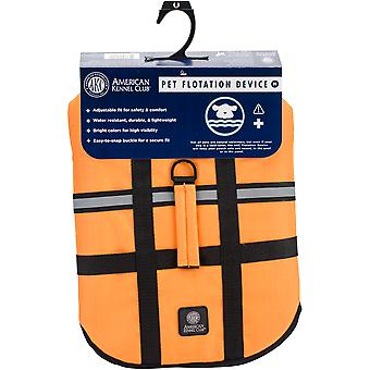 AKC Flotation Weste Orange mittlerer AK9001-01929