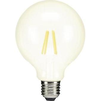 LED E27 Globe 6 W = 60 W Warm white (Ø x L) 95 mm x 134 mm EEC: A++ Sygonix Filament 1 pc(s)