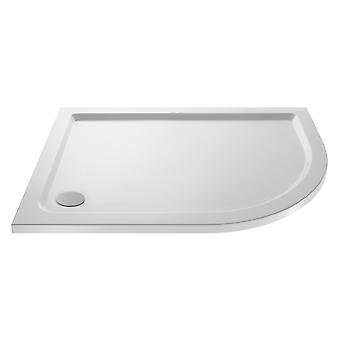 Premier Pearlstone 900mm x 760 Right Hand Offset Quadrant Shower Tray