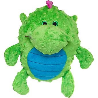 GoDog Dragons Grunters With Chew Guard-Green 773033