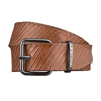 BALDESSARINI belts men's belts leather belt Brown 2980